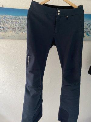 Peak performance Thermobroek donkerblauw-staalblauw Polyester