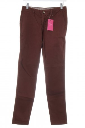 Peak performance Stoffhose braun Casual-Look