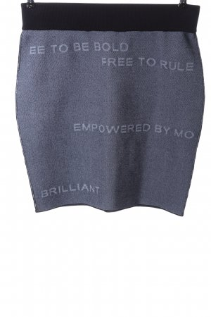 Peak performance Knitted Skirt black-blue flecked casual look