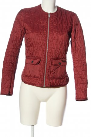 Peak performance Übergangsjacke rot Motivdruck Casual-Look