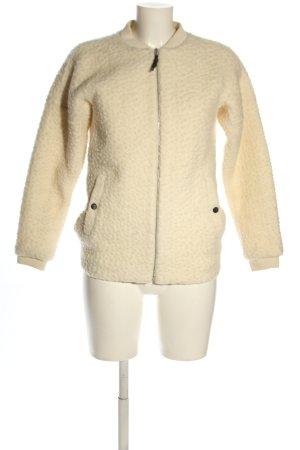 Peak performance Giacca di lana crema stile casual