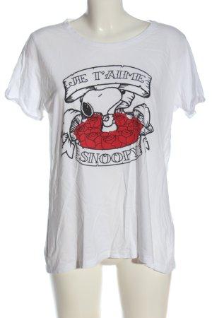 Peanuts Print-Shirt Motivdruck Casual-Look