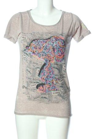 Peanuts Print-Shirt creme Motivdruck Casual-Look
