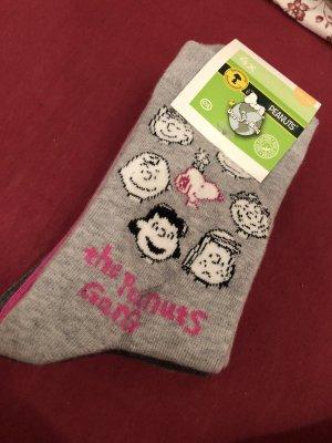 Peanuts Scaldamuscoli grigio-rosa