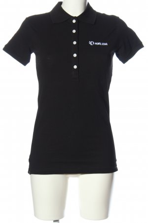 Pearl izumi Polo Shirt black-white casual look