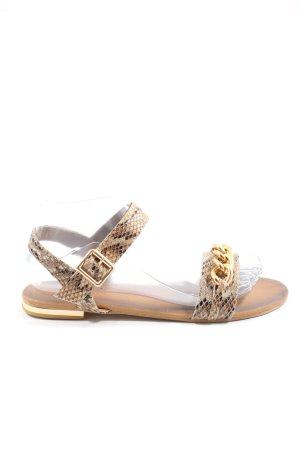 Pearlz Beach Sandals allover print casual look