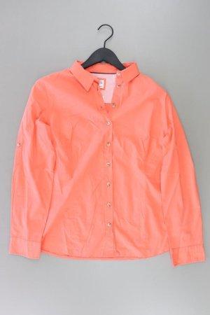 PECKOTT Bluse Größe 44 orange aus Baumwolle