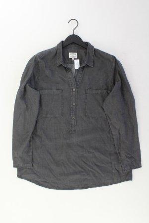 PECKOTT Bluse Größe 46 grau aus Lyocell