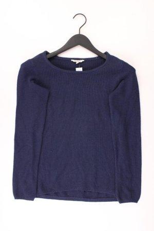Peckott Coarse Knitted Sweater blue-neon blue-dark blue-azure cotton