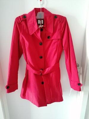 Peckott Long Jacket dark red