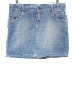 Peckott Denim Skirt blue casual look
