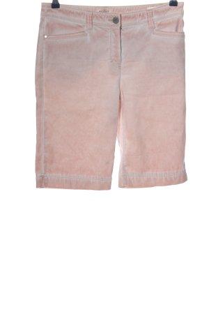 Peckott Denim Shorts pink casual look