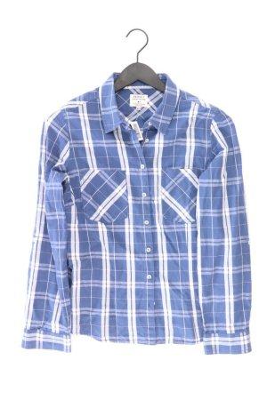 Peckott Checked Blouse blue-neon blue-dark blue-azure cotton
