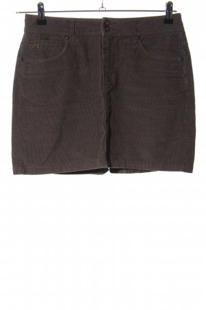 Peckott Miniskirt brown casual look