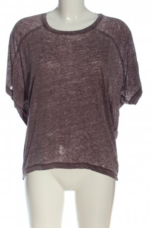 Peckott Oversized Shirt lilac flecked casual look