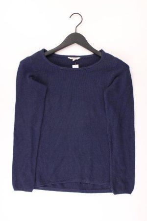 PECKOTT Pullover Größe S blau aus Baumwolle