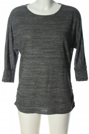 Peckott Stripe Shirt black-white allover print casual look