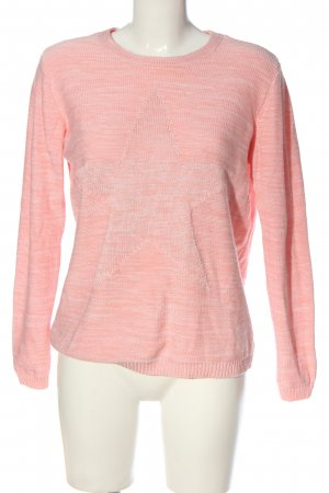 Peckott Rundhalspullover pink Casual-Look