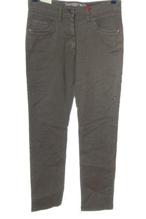 Peckott Skinny Jeans light grey casual look