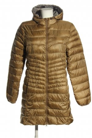 Peckott Quilted Coat green quilting pattern casual look