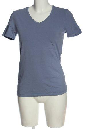 Peckott T-Shirt blau Casual-Look