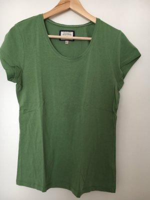 Peckott T-Shirt grün
