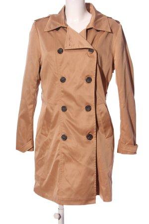 Peckott Between-Seasons-Coat brown casual look