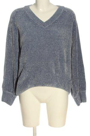 Peckott V-Neck Sweater blue casual look