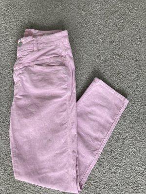 Closed Jeans a vita alta rosa