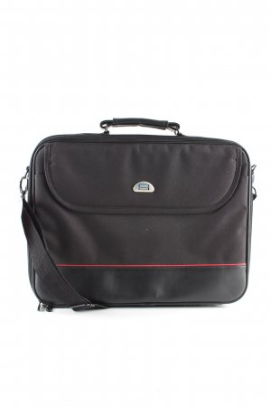 Briefcase black business style