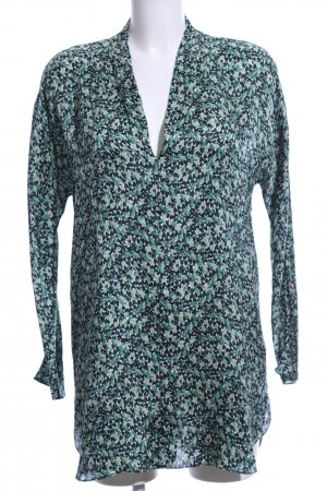 Pedro del Hierro Long-Bluse Allover-Druck Casual-Look
