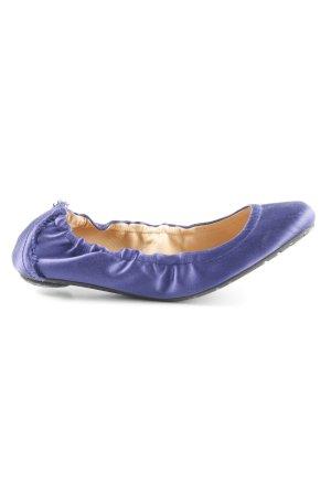 Pedro garcia faltbare Ballerinas dunkelviolett Elegant