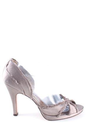 Pedro garcia High Heel Sandaletten braun Casual-Look
