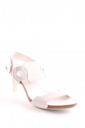 Pedro garcia High Heel Sandaletten wollweiß Casual-Look