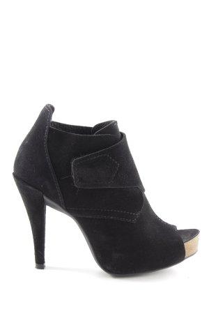 Pedro garcia High Heels schwarz extravaganter Stil