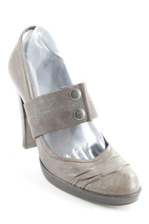 Pedro garcia High Heels grüngrau Casual-Look