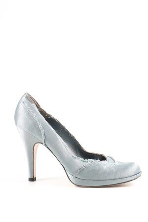 Pedro garcia High Heels himmelblau Business-Look