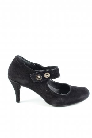 Pedro garcia Mary Jane Pumps schwarz Business-Look