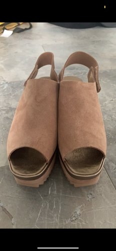 Pedro garcia Platform Sandals nude-apricot