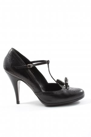 Pedro garcia T-Strap Pumps black elegant