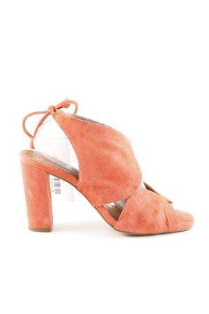 Pedro Miralles High Heel Sandaletten hellorange Casual-Look