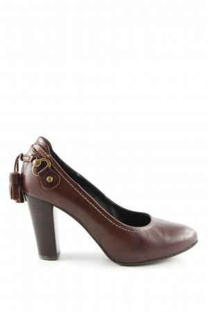 Pedro Miralles High Heels braun Casual-Look