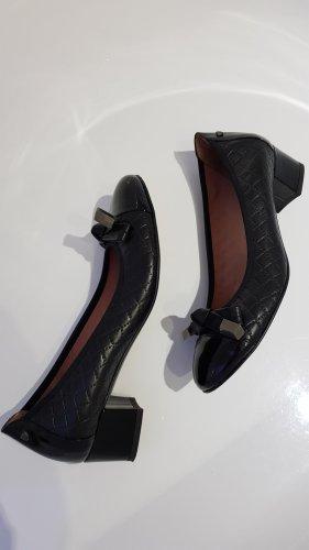 Pedro Miralles Zapatos de tacón con barra en T negro