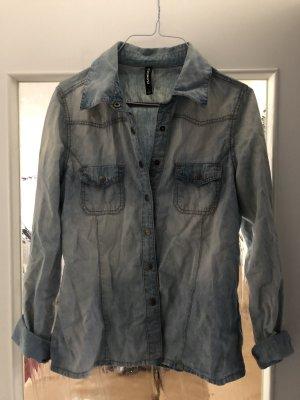 Peek & Cloppenburg Blouse en jean bleu azur
