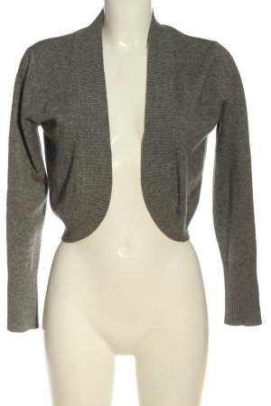 Peek & Cloppenburg Knitted Bolero light grey flecked casual look