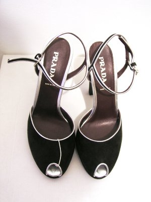 Peep-Toe Prada HIgh-Heels, 38,5