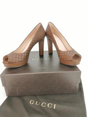 Peep Toe Pumps von Gucci