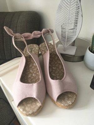Yessica Alpargatas rosa claro-rosa