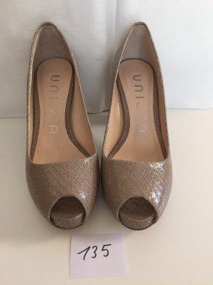 Peeptoe High heels NEU