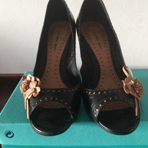 Barbara Bui Peep Toe Pumps multicolored leather